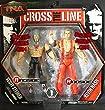 SCOTT STEINER & KEVIN NASH - CROSS THE LINE 2-PACKS 1 TNA TOY WRESTLING ACTION FIGURES