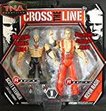 SCOTT STEINER & KEVIN NASH - CROSS THE LINE 2-PACKS 1 TNA TOY WRESTLING ACTION FIGURES