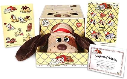 Amazon.com: Basic Fun Pound Puppies Classic Stuffed Animal Plush ...