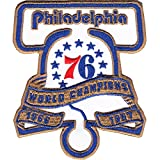 2017 Official NBA Philadelphia 76ers 50th World Champions Anniversary Patch