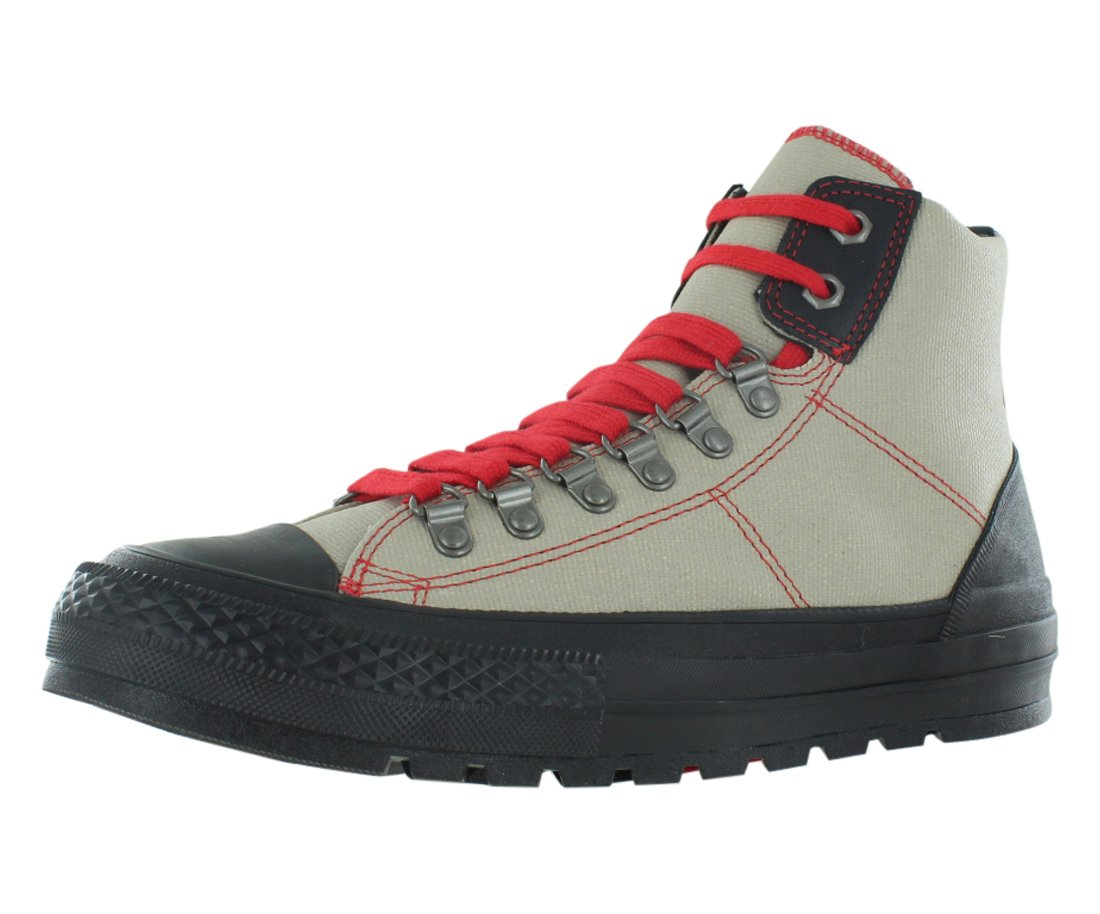 Converse Ct Street Hiker Men's Sneakers Size US 7, Regular Width, Color Grey/Black/Red