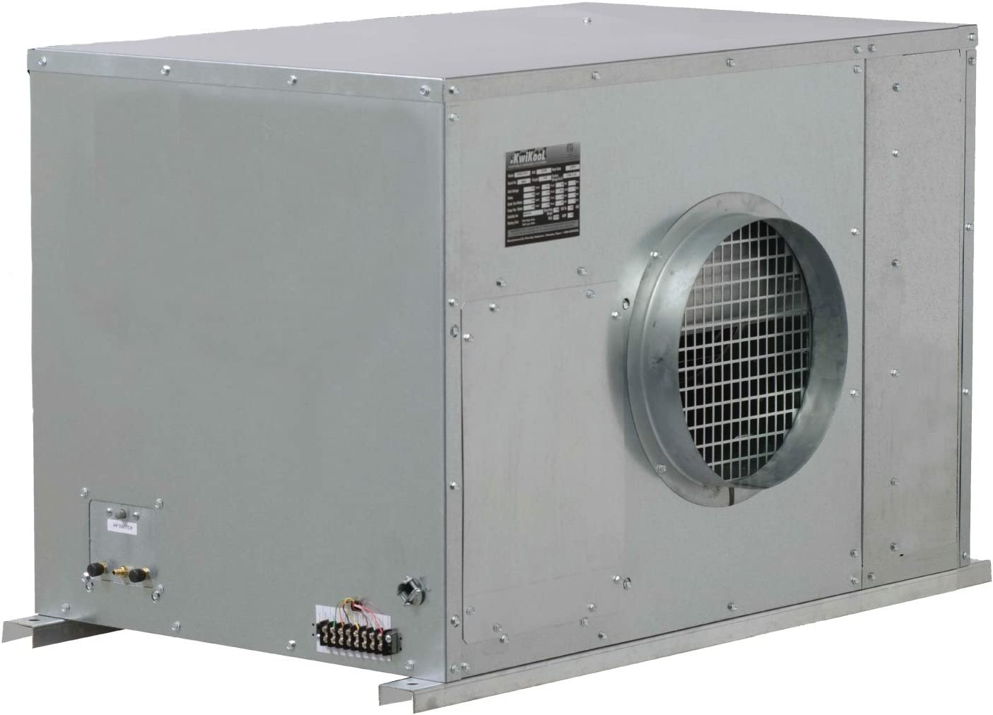 B06Y1JKFP3 KwiKool KCW4221 Water-Cooled Ceiling Mounted Air Conditioner 61v8NspWa4L.SL1500_