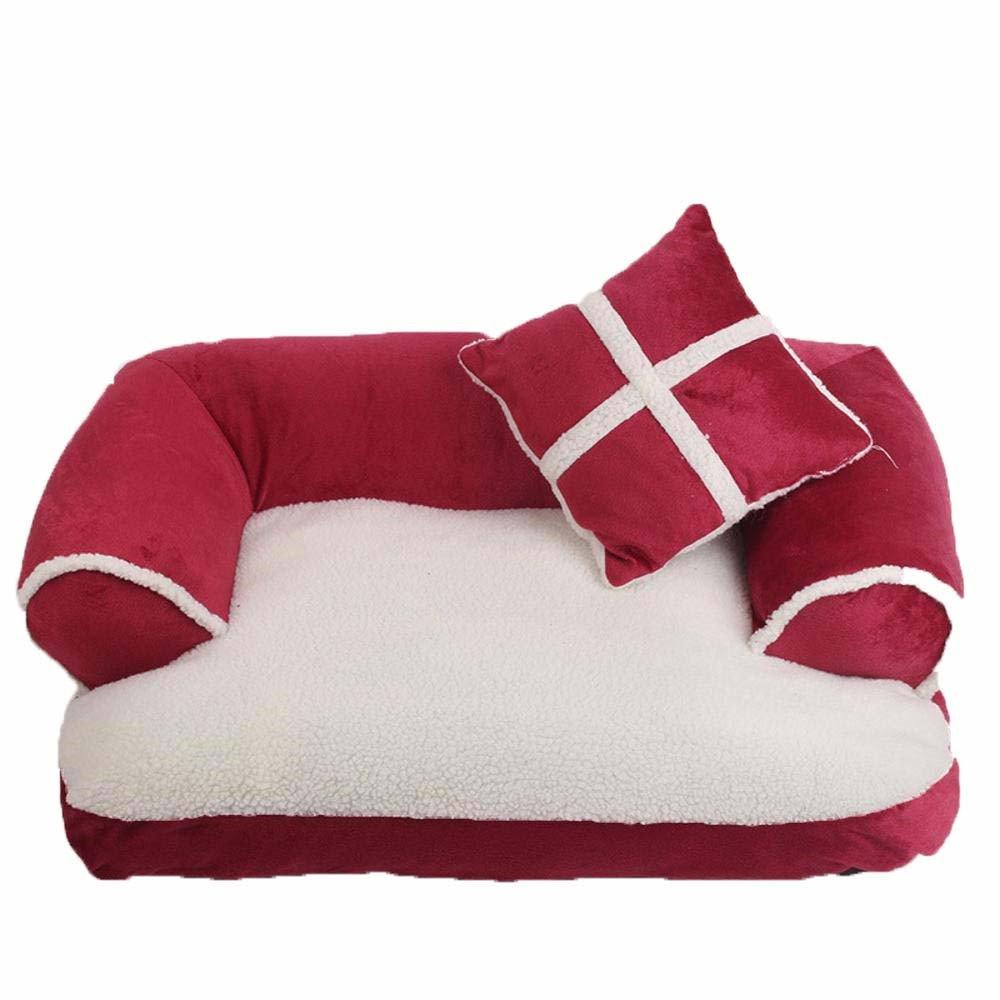 B Medium B Medium Weiwei Kennel Cat Litter Pet Supplies Autumn and Winter Warm pet nest Dog mat