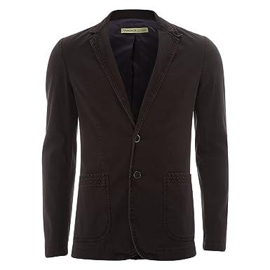 Pourpre Jeans 38 Formelle Coton Hommes Violet Versace Homme Veste 87Bw4
