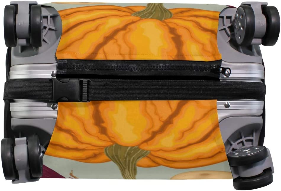 GIOVANIOR Vegetables Pumpkin Carrots Onions Luggage Cover Suitcase Protector Carry On Covers