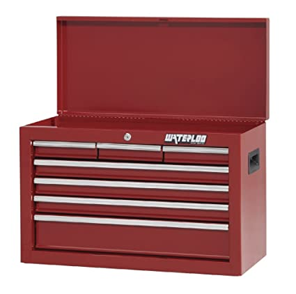 Waterloo Shop Series 7 Drawer Tool Chest With Full Extension Friction Drawer Slides