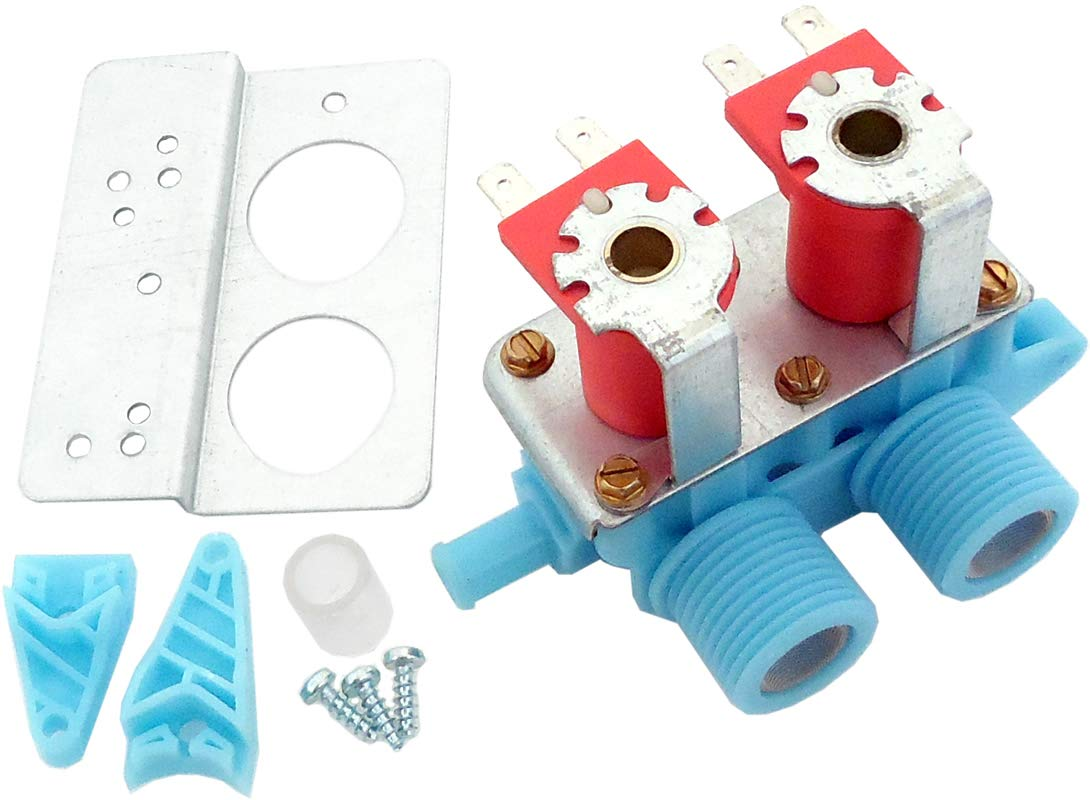 ClimaTek Upgraded Washer Washing Machine Water Inlet Valve fits Kenmore Whirlpool WP3979346 AP6009052 3979346