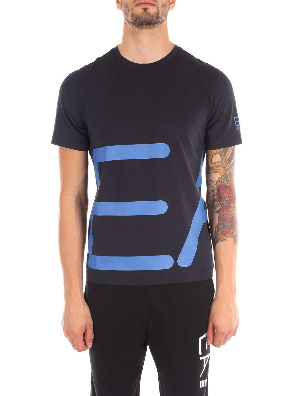 0b4980b8 EA7 - Emporio Armani 6YPTB8 T-shirt / Polo shirt Men night blue XXL:  Amazon.co.uk: Clothing