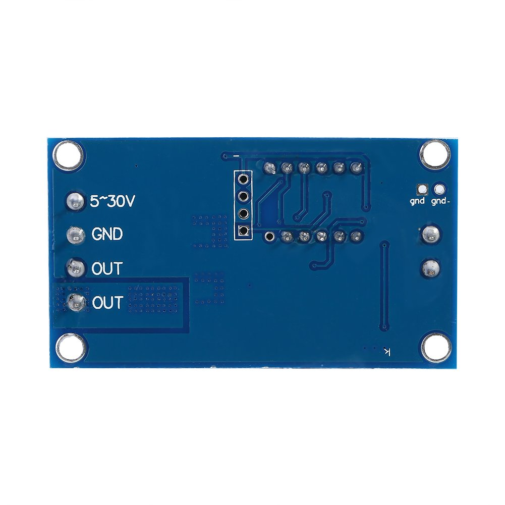 Akozon Zeitgeber Relais Modul Zeitverz/ögerungsrelais DC 5V 36V Trigger Zyklus Verz/ögerung Zeitschaltuhr Ein//Ausschalten Relaismodul mit LED-Anzeige Trigger Delay Digital LED Board