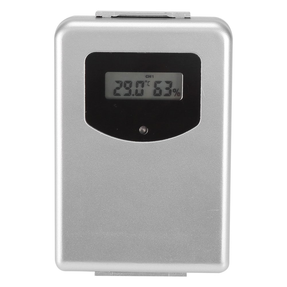 Zerodis Battery Powered Wireless Remote Sensor Indoor Outdoor Thermometer Humidity Monitor