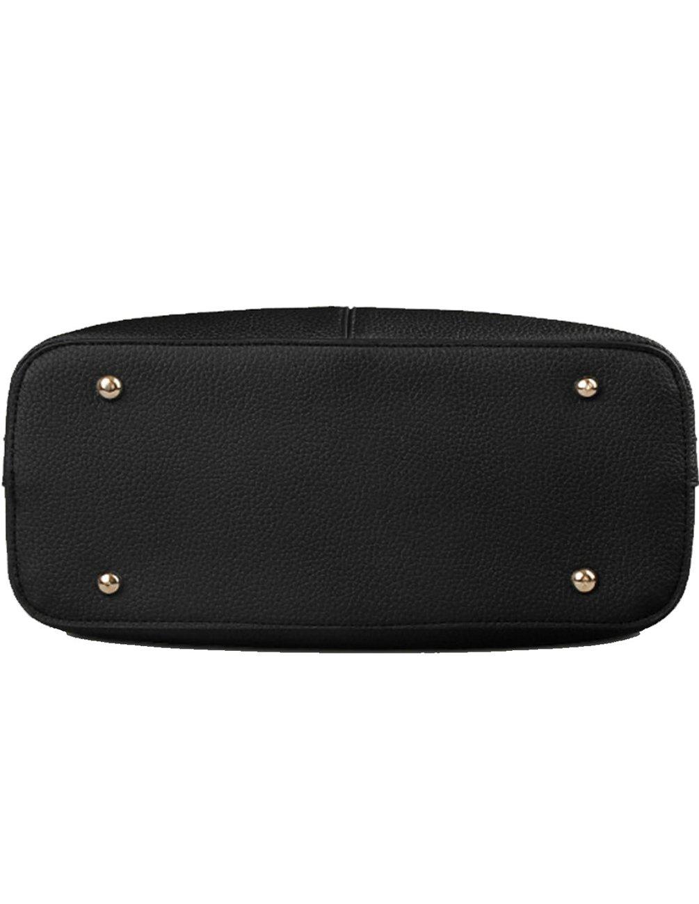 BE-LIFE-Stylish-Women-Pu-Leather-Vertical-Utility-Top-Handle-Handbag-Satchel-Tote-Purse-Bag