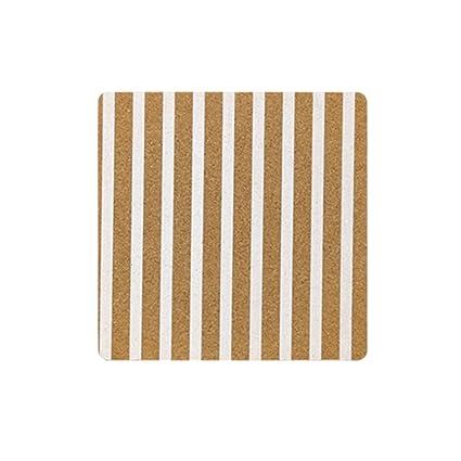 Amazon.com : WCR Cork Board Tiles, Square Pin Bulletin Board Mini ...