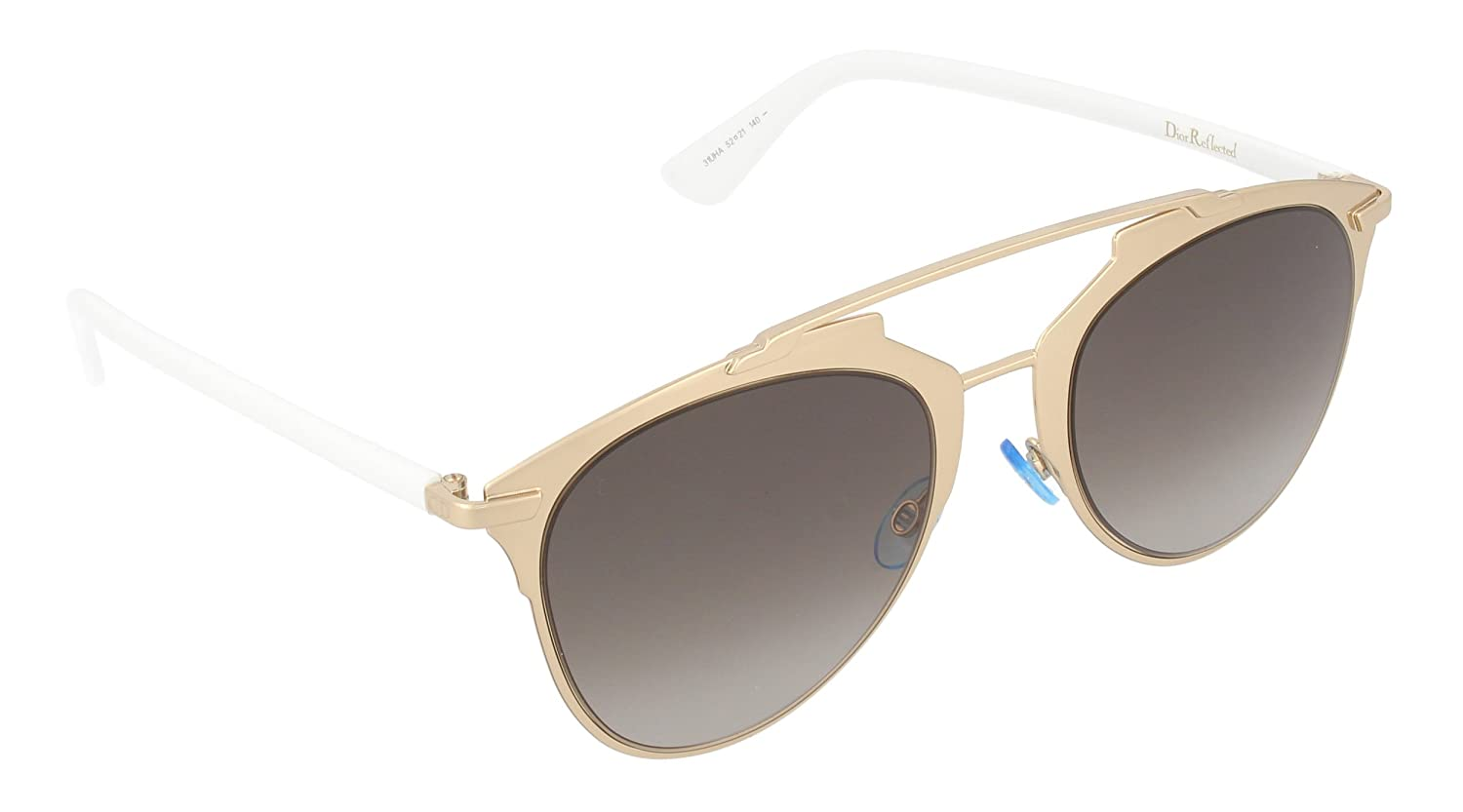 Dior DIORREFLECTED HA 31U Gafas de sol, Dorado (Rose Gold White/Brown Shaded), 52 para Mujer