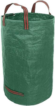 Alivier 80/132 Galones Bolsas de jardín Plegables Impermeables Basura Sacos con Asas: Amazon.es: Hogar