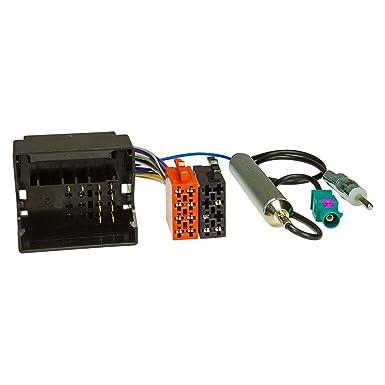 Cable adaptador para radio de coche para Citroën, Peugeot a Most/Quadlock ISO +