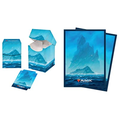 Ultra Pro Unstable Lands Avon Island Pro 100+ Deck Box with 100 Sleeves: Toys & Games