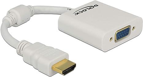 DeLOCK Adaptador HDMI-A 19 Pines Macho A VGA