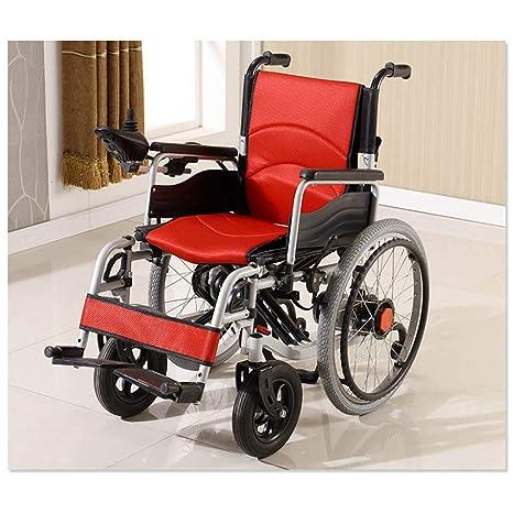 Dapang Silla de Ruedas eléctrica automóvil para Personas Mayores con discapacidad Anciano Inteligente Scooter portátil automático
