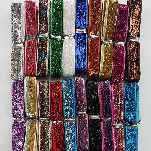 Chenkou Craft 20Yards Assorted Colors 3/8