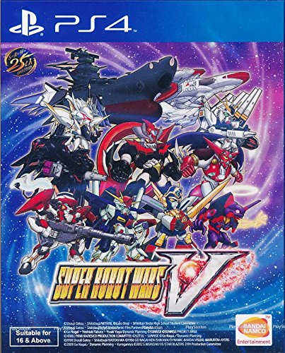 Super Robot Wars V (English Subs) for PlayStation 4 [PS4] - Bandai Super Robot