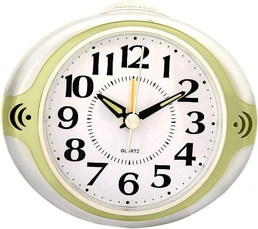 Relojes de mesa Pequeño Reloj de Escritorio con Pilas de la luz de ...