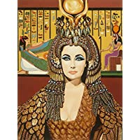 Elizabeth Taylor as Cleopatra by Karl Black 18x12 Art Print Poster Wall Decor