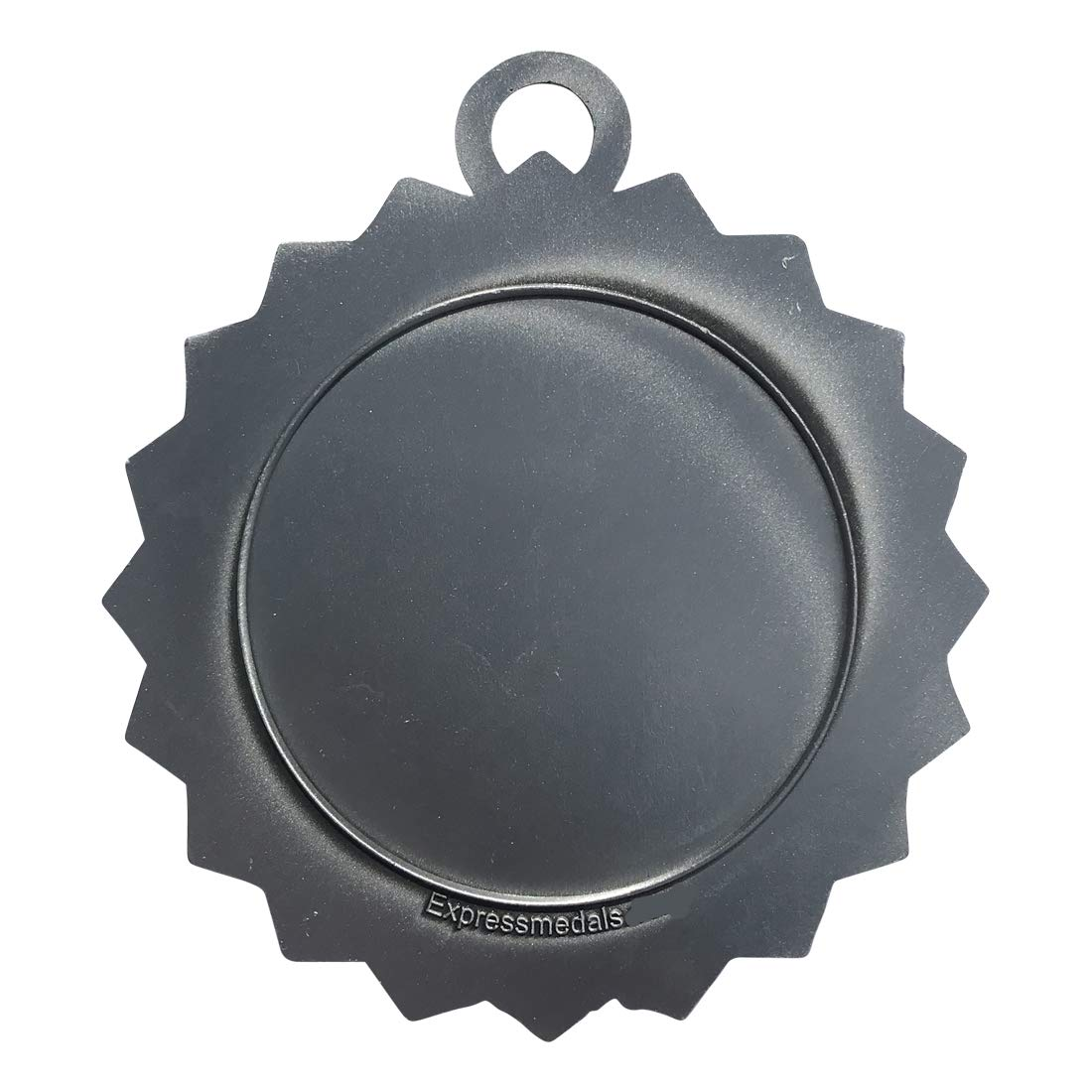 Express Medals 1 to 50 Packs Cornhole Silver Medal Trophy Award with Neck Ribbon D03-FCL455