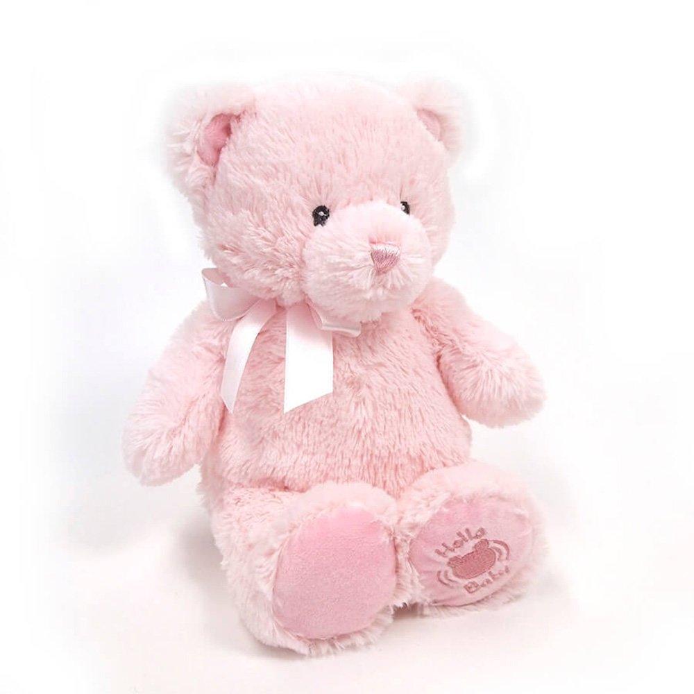 """Baby GUND My First Teddy Sound Toy Stuffed Animal Plush in Pink 10/"""" Gund Baby 4060908"""