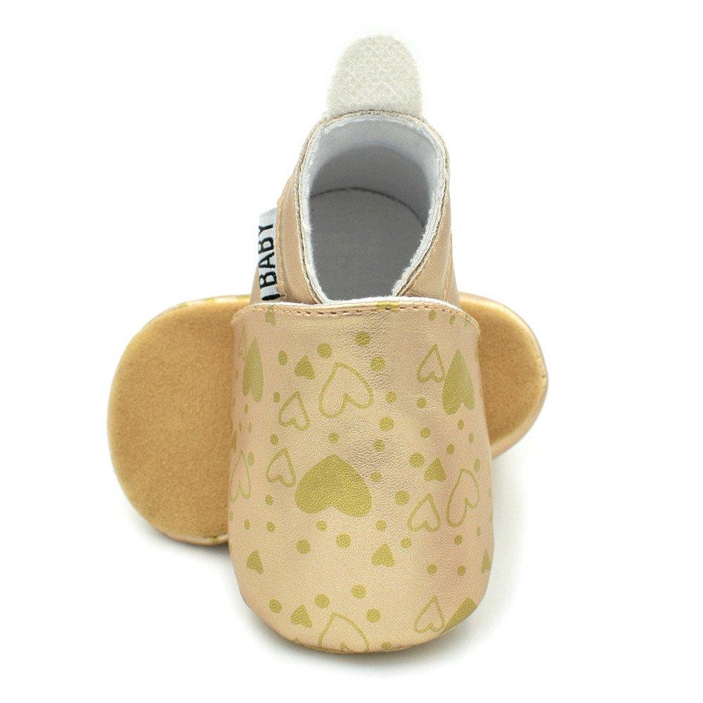 Lanhui Newborn Toddler Baby Shoes Infants Girl Boy Shoes Cute Soft Anti-Slip Shoes