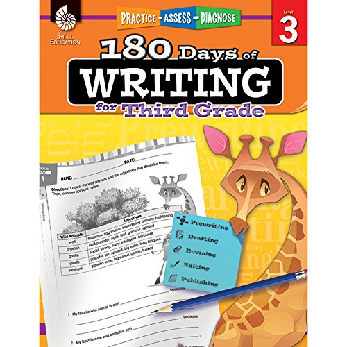 180 Days of Writing for Third Grade (180 Days of (4th Grade Teachers Guide)