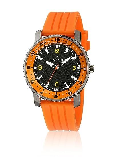 Radiant Reloj analogico para Hombre de Cuarzo con Correa en Caucho RA106603: Amazon.es: Relojes