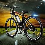 ANCHEER-Bicicletta-Elettrica-Pieghevole-Bici-da-Montagna-Ebike-con-Batteria-al-Litio-da-26-Pollici-Grande-capacita-36V-250W-21-velocita-Sospensione-Completa-Premium-e-Cambio-Shimano-Nero