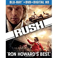 Rush Blu-ray + DVD + Digital HD Deals