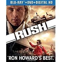 Deals on Rush Blu-ray + DVD + Digital HD