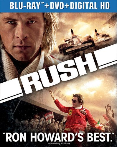 Blu-ray : Rush (With DVD, Ultraviolet Digital Copy, Snap Case, Slipsleeve Packaging, 2 Pack)