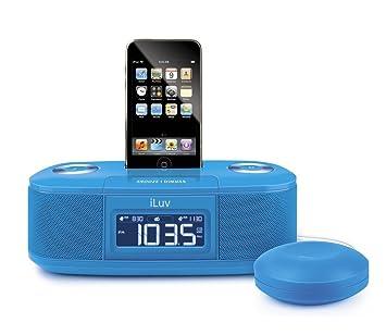 amazon com iluv vibro i bed shaker 30 pin ipod alarm clock speaker rh amazon com