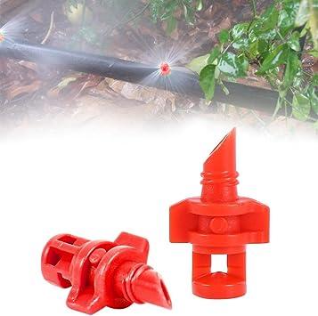 50 360 degree Garden Lawn Water Spray Misting Nozzle Sprinkler Irrigation System
