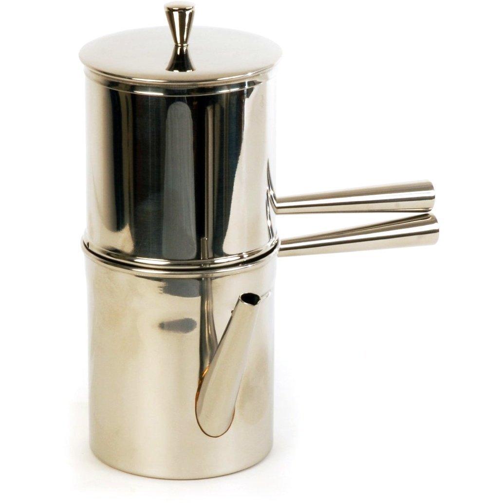 2019春の新作 ILSA Neapolitan Coffee Maker 6 Cup Size - Cup Italy in Stainless Steel - Made in Italy B003HDQ1AK, アサヒマチ:c9cbbba3 --- mfphoto.ie