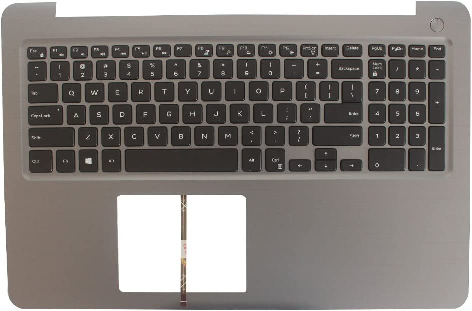 New Laptop Replacement Keyboard for Dell Inspiron 15-5000 5565 5567 US Layout with C Shell