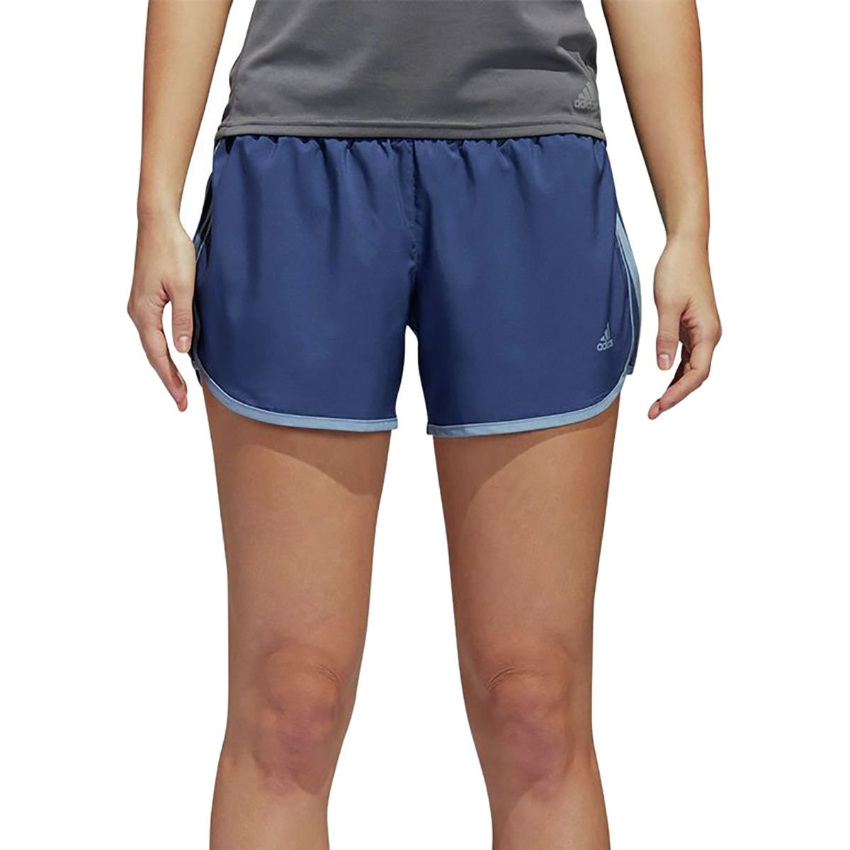Noble IndigoRaw Green Adidas Womens Running M10 Woven Short