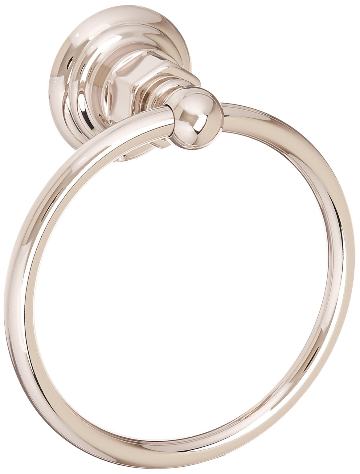 Rohl ROT4PN Country Bath Towel Ring in Polished Nickel by Rohl