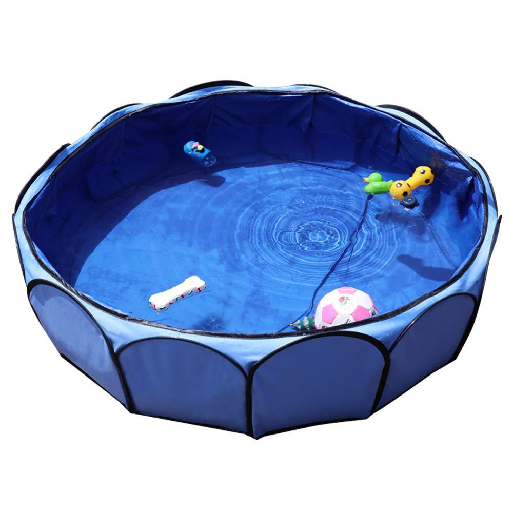 Petsfit Leakproof Fabirc Portable Dog Pool, Large, Sky Bule Ltd