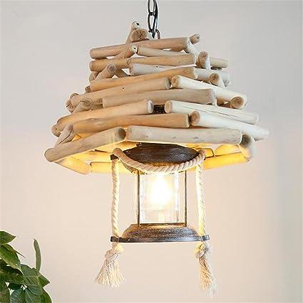 Retro lámpara de keroseno farol lámpara colgante luces de ...