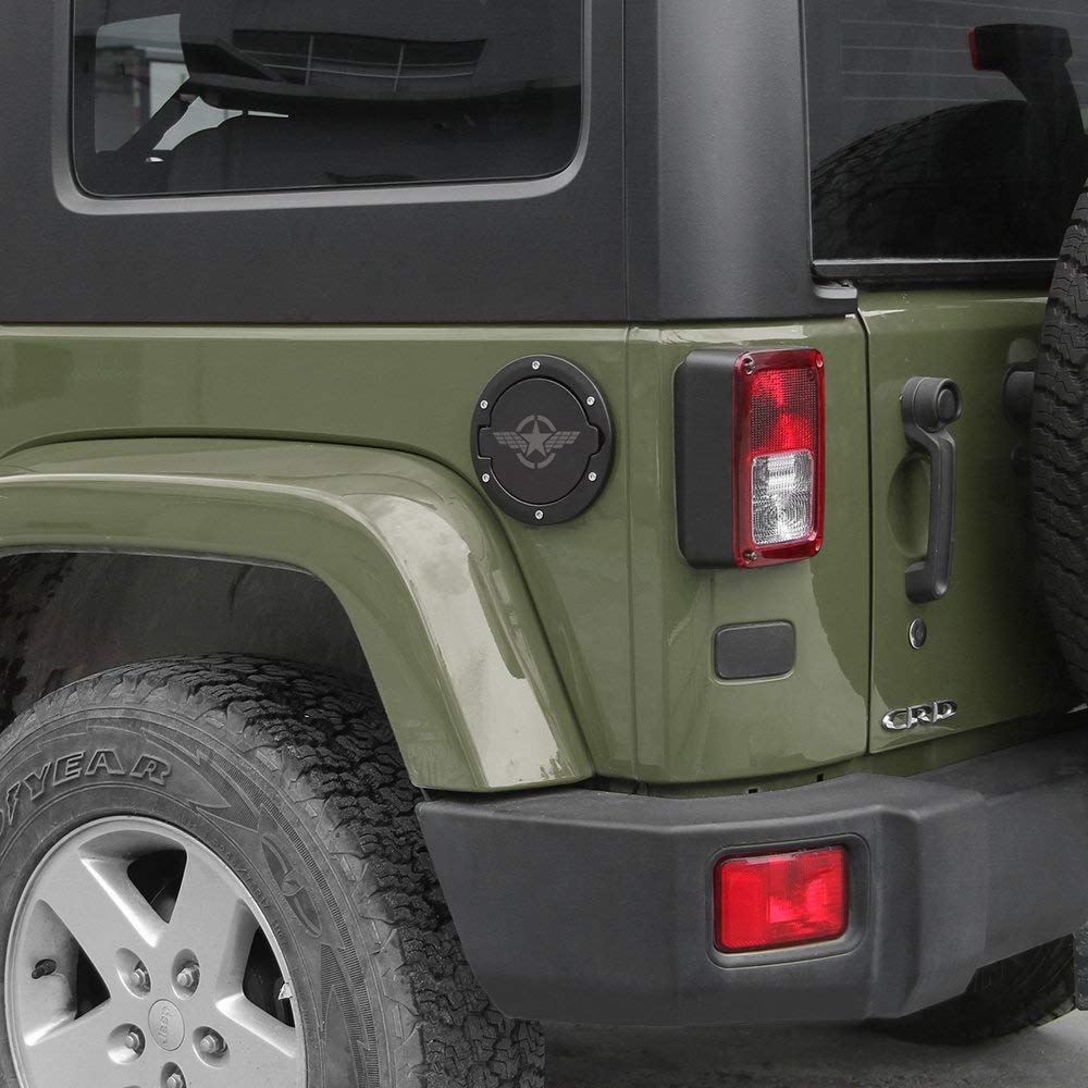 07-17 Wrangler 4 porte 2 porte coperchio serbatoio carburante