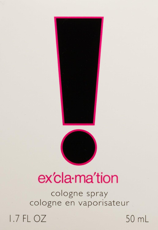 Coty Exclamation - Colonia en espray de 50ml, perfume para mujer, Reino Unido: Amazon.es: Salud y cuidado personal