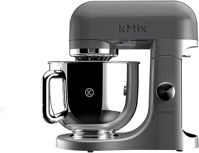 Kenwood KMX50GY - Batidora amasadora, 500 W, color gris: Amazon.es: Hogar