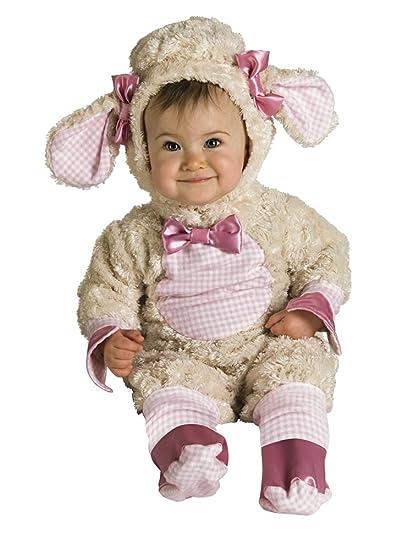 Rubies - Disfraz de oveja para niños, talla bebé 1-2 años (Rubies 885354-T)