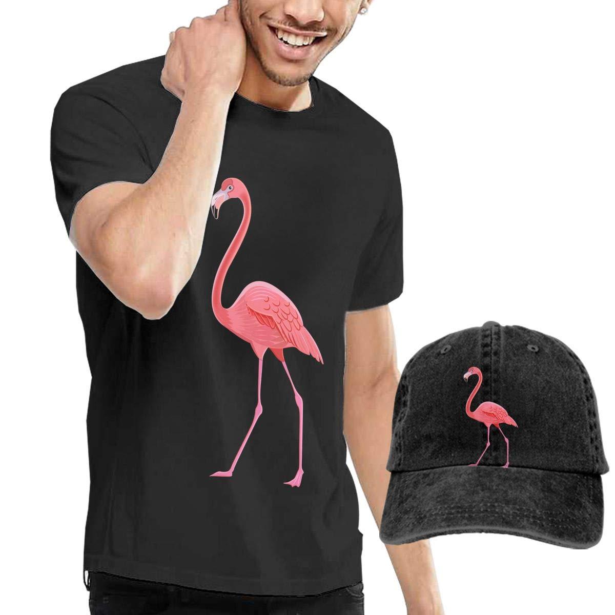 Flamingo Fashion Mens T-Shirt and Hats Youth /& Adult T-Shirts