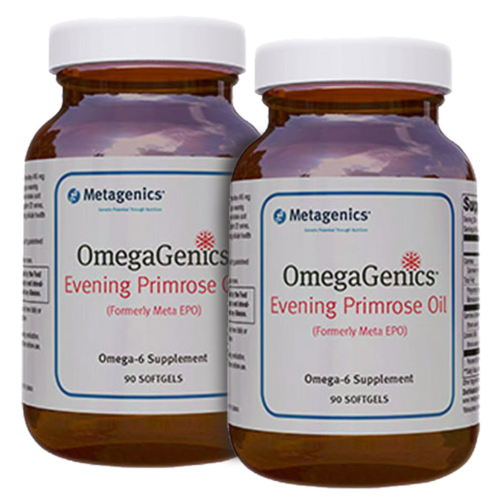 Metagenics OmegaGenics Evening Primrose Oil 90 Softgels - TwinPak