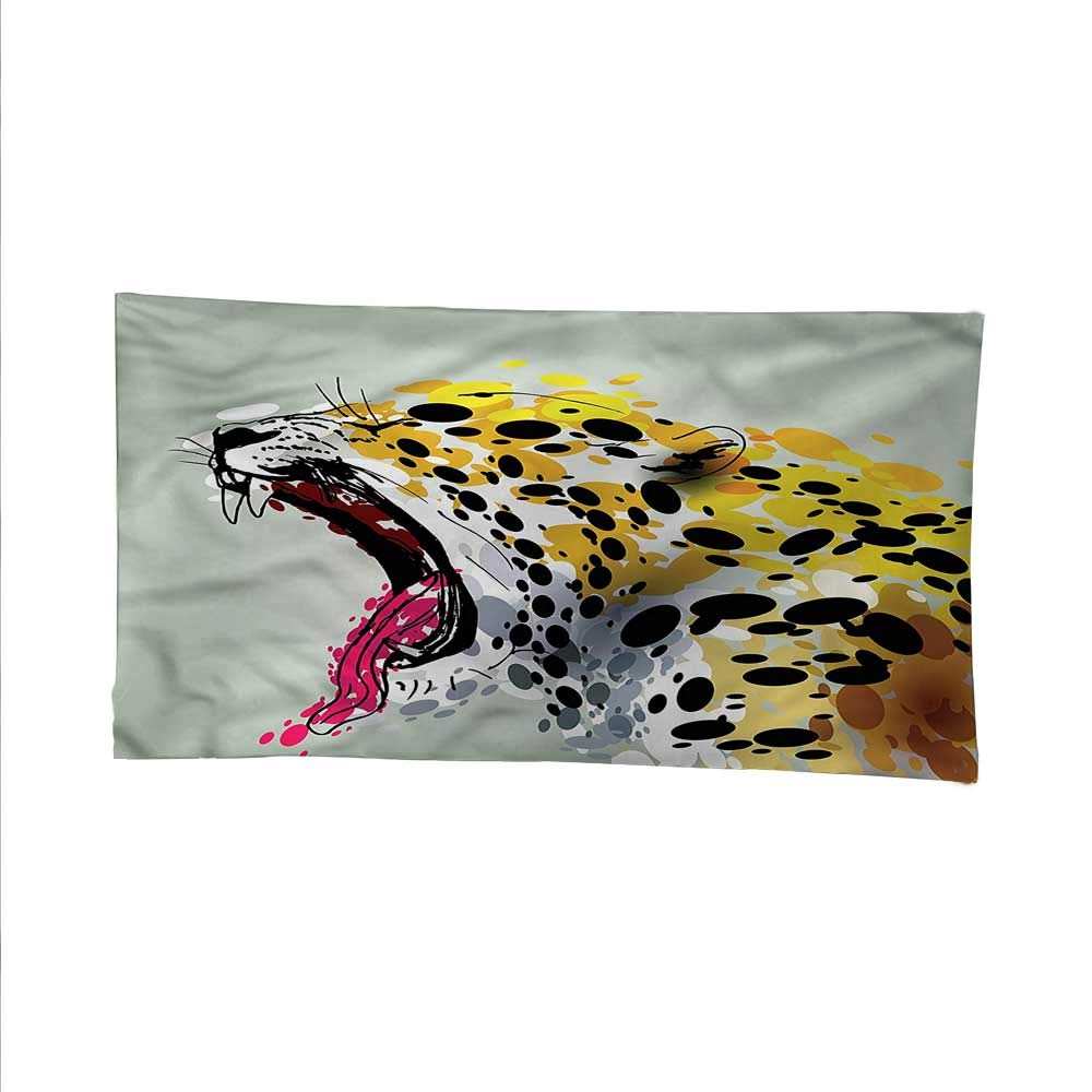 color14 84W x 54L Inch color14 84W x 54L Inch Animaltapestrywall tapestryWild Big Cat Tiger Safari 84W x 54L Inch